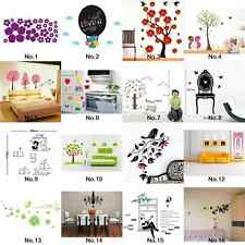 Wall Decal Decor Art Room Sticker Mural Vinyl Purple Petal Window Cling Home DIY