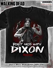 THE WALKING DEAD DONT MESS WITH DARYL DIXON TWD AMC CROSSBOW RICK T SHIRT S-3XL