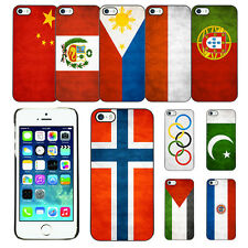 Country National Flag Hard Phone Case Cover for Apple iPhone 5G 5S