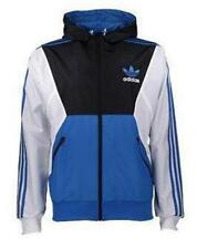Adidas Originals SPO Mens Hooded Windbreaker Sz XS S jacket hoody