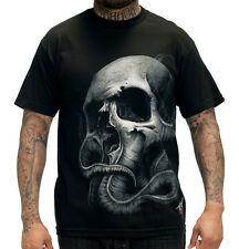 AUTHENTIC SULLEN CLOTHING TYRRELL OCTOPUS SKULL GOTH TATTOO PUNK T SHIRT S-5XL