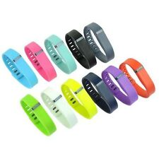 New Replacement Wrist Band w/Clasp For Fitbit Flex Bracelet Small / Large 2 Size