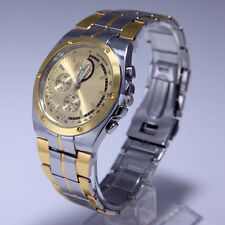 New Casual Nice Men's Boys' Stainless Steel Band Round Dial Quartz Wrist Watch