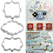 1pcs Cake Fondant Fancy Sugar craft Decorating Cookies Cutter Baking Tool SP2G
