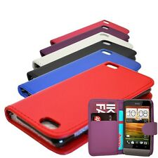 PU LEATHER WALLET BOOK FLIP MOBILE PHONE CASE COVER FOR HTC 300 HTC 500 HTC 700