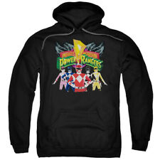 Power Rangers Unite Mighty Morphin Licensed Adult Pullover Hoodie S-3XL