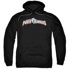 Power Rangers Mighty Morphin New Logo Licensed Adult Pullover Hoodie S-3XL