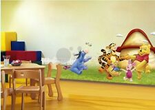 Wall sticker Winnie the pooh nursery room kids boy girl gift tiger piglet Eeyore