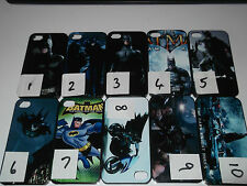 IPHONE 4 4s - BATMAN HARD CASE COVER PROTECTOR - 10 TO CHOOSE FROM. DC COMICS