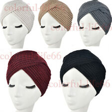 2015 New popular Beanie Turban knit Crochet handmade Headband winter warm hat