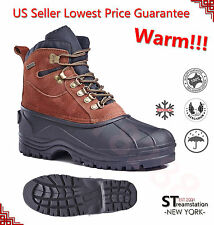 "FREE SHIPPING Mens 6"" Insulated Waterproof Winter Snow Boots Hiking Shoes 1280R"