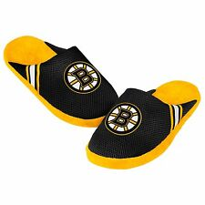 Bruins Jersey Mesh SLIDE SLIPPERS New - FREE SHIPPING - Boston Bruins - NHL