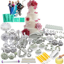 Xmas Various Cake Fondant Cutter Decorating Tools Icing Frozen Topper Candy Mold