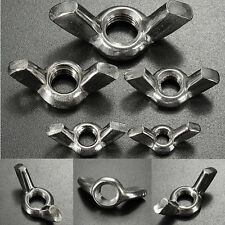 M4/5/6/8/10mm Stainless Steel Wing Nuts To Fit Our Stainless Bolts & Screws