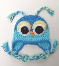 CROCHET BABY OWL HAT  knit infant toddler  beanie photo prop