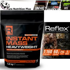 REFLEX NUTRITION INSTANT MASS HEAVYWEIGHT PROTEIN BEST WEIGHT GAINER CREATINE