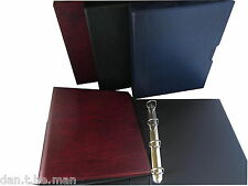 A4 ARCHIVAL PADDED STORAGE ALBUM , OPTIONAL SLIPCASE- VARIOUS COLOURS