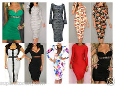 Hot Women Sexy Clothes Cocktail Party Ladies Bandage Bodycon Mini Dress Clubwear