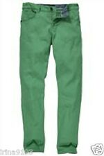 Next Boy Green Straight Leg Cotton Jeans Size 15 years
