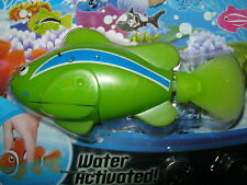 Robotic Pet Electronic Fish Water Activated Battery Operated 4 Colours To Choose