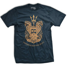 Ranger Up King Neptune Shellback T-Shirt - Navy
