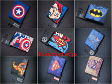 Cool Marvel Batman captain America avengers alliance wallets Purses 15 styles
