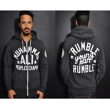 Roots of Fight Ali Rumble Anniversary People's Champ Hoodie - Charcoal