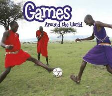 NEW Games Around the World by Clare Lewis Hardcover Book Free Shipping