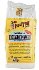 Bob's Red Mill Whole Grain Brown Rice Flour 24 oz - Pack of 1 / 2 / 3 / 4