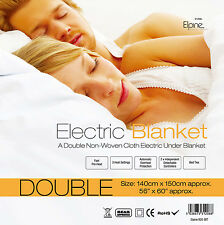 KING / DOUBLE /SINGLE SIZE ELECTRIC BLANKET HEATED UNDER BED WARM NIGHT WINTER