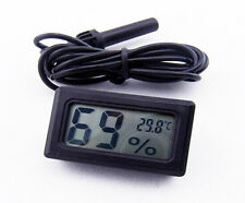 Poultry Egg Hatching Incubator Digital Temperature Thermometer Probe Hygrometer