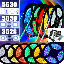 Striscia A LED SMD 5050/3528 5M RGB Luce Multicolor 150/300/600/1200 LEDS 120°