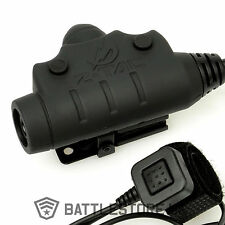 Z Tactical BRAND NEW U94 Style PTT Push To Talk Headset Adapter Radio Airsoft UK