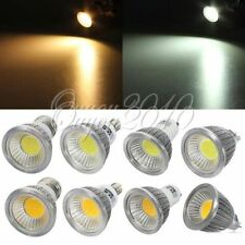 MR16 GU10 E27 Dimmable LED COB Spot Light Downlight Lamp Bulb 6W/9W/12W 110/220V