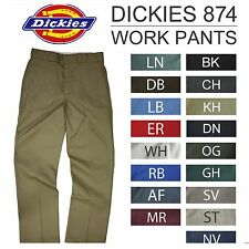NWT 874 DICKIES WORK PANTS DARK NAVY BLACK STRAIGHT LEG CLASSIC FIT ALL COLORS