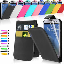 Magnetic Vertical Flip Leather+PC Card Case Cover For Samsung Galaxy S3 i9300