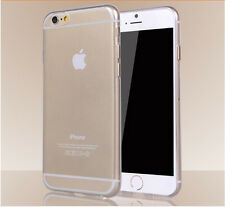 """For iPhone 6 4.7"""" / Plus 5.5"""" Ultra Thin Slim Soft TPU Clear Skin Case Cover New"""