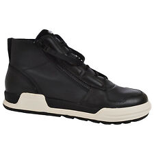 adidas SLVR Mens Syin Leather Double Zip Lace High Tops Shoes Trainers