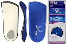 POWERSTEP SLIM-TECH 3/4 Length Orthotic Arch Supports Shoe Insoles SlimTech USA