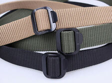 Army Tactical Nylon Belt Gürtel Emergency Rescue Rigger Military Durability Belt