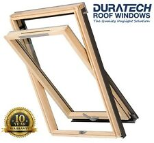 Velux/Duratech Centre Pivot Vented Roof Window 550 x 780mm with Flashing