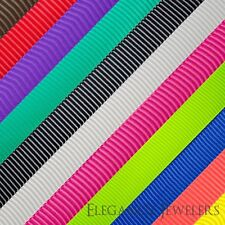 "Premium Quality 1"" Solid Color Polyester Grosgrain Ribbon (4 Yards Of 1 Color)"