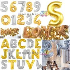 "40""14""Optional AL Foil Letter A-Z/ NO1-9 Ballons Party Birthday Wedding Decor"