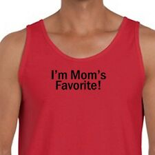 I'm Mom's Favorite T-shirt Family Love Humor Mothers Day Gift Men's Tank Top
