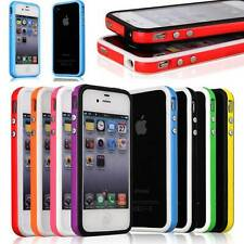 New Bumper Frame TPU Silicone Case Cover for Apple iPhone 5 5S 5G W/ Side Button