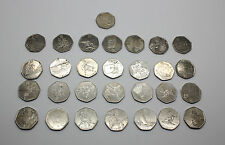 2011 (Circulated) London Olympics 2012 50p Coins - Free Delivery