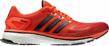 NIB Adidas Energy Boost Running Shoes Night Share/Hi-Res Red #Q33957