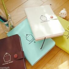 Molang Diary Ver.2 Planner Scheduler Journal Agenda Organizer Notebook & Sticker