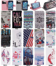 Fashion Wallet Flip PU Leather Soft Back Lovely Cover Case For Samsung For SONY