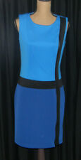 NWT Sleeveless Blue Dress by Leslie Fay Retail $108
